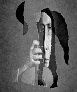 Metaritratti - il musicante  /  © Franco Donaggio, tutti i diritti riservati