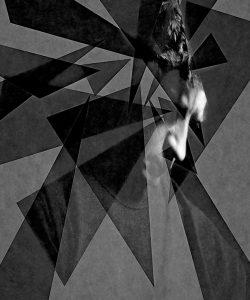 Metaritratti - uomo che pensa  /  © Franco Donaggio, tutti i diritti riservati