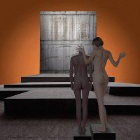 Gli Spazi di Morfeo - Adamo ed Eva  /  ©Franco Donaggio, tutti i diritti riservati