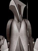 Sculptures - il soldato  -  ©Franco Donaggio, tutti i diritti riservati