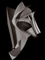 Sculptures - maschera da guerra  -  ©Franco Donaggio, tutti i diritti riservati