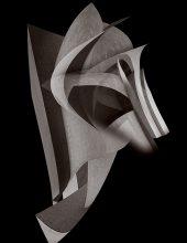 Sculptures - maschera da guerra  /   ©Franco Donaggio