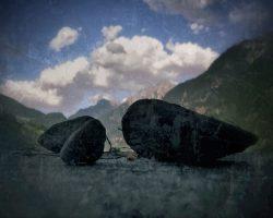 Il bosco del pensiero - pietre parlanti  /  © Franco Donaggio, tutti i diritti riservati
