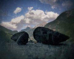 Bosco del pensiero - pietre parlanti  /  ©Franco Donaggio, tutti i diritti riservati